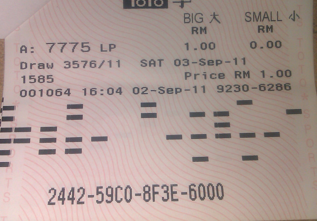 Lucky Pick 4D http://aim4d.blogspot.com/2011/09/lucky-pick-toto_03.html