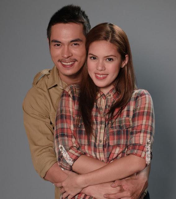 Jake Cuenca and Shaina Magdayao in Kung Ako'y Iiwan Mo