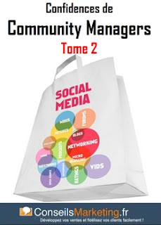 Couverture Confidences de Community Manager (Conseilsmarketing.com)