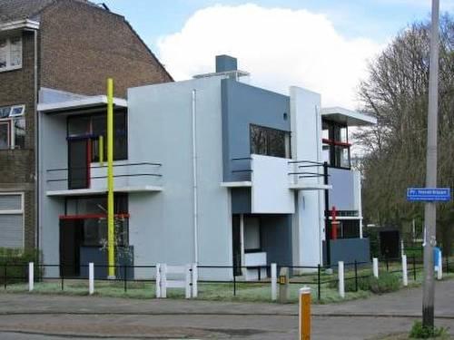 Foto de una casa neoplasticista en Holanda