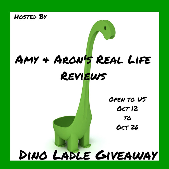 Enter the Dino Ladle Giveaway. Ends 10/26.