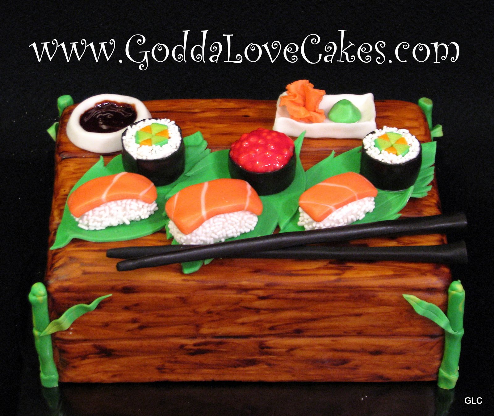Sushi Cake | Godda Love Cakes