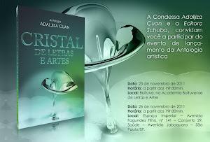 CRISTAL DE LETRAS E ARTES