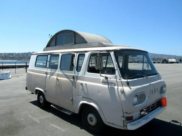 used rvs 1966 ford econoline supervan camper for sale by owner. Black Bedroom Furniture Sets. Home Design Ideas