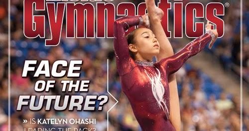 Rocky Coast News Katelyn Ohashi Covers Inside Gymnastics