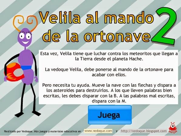 http://www.vedoque.com/juegos/naves-ortografia-h.swf