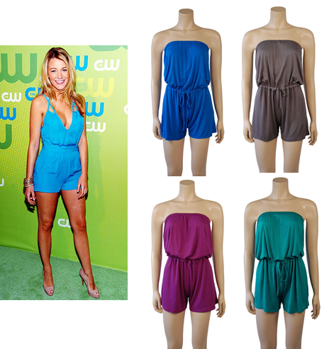Blake Lively Shorts on It S Good To Be Bad   Get The Look  Blake Lively Short Jumpsuit