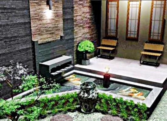 contoh foto model teras rumah minimalis cantik 2015