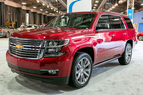 Updated 2015 Chevrolet Suburban and Tahoe