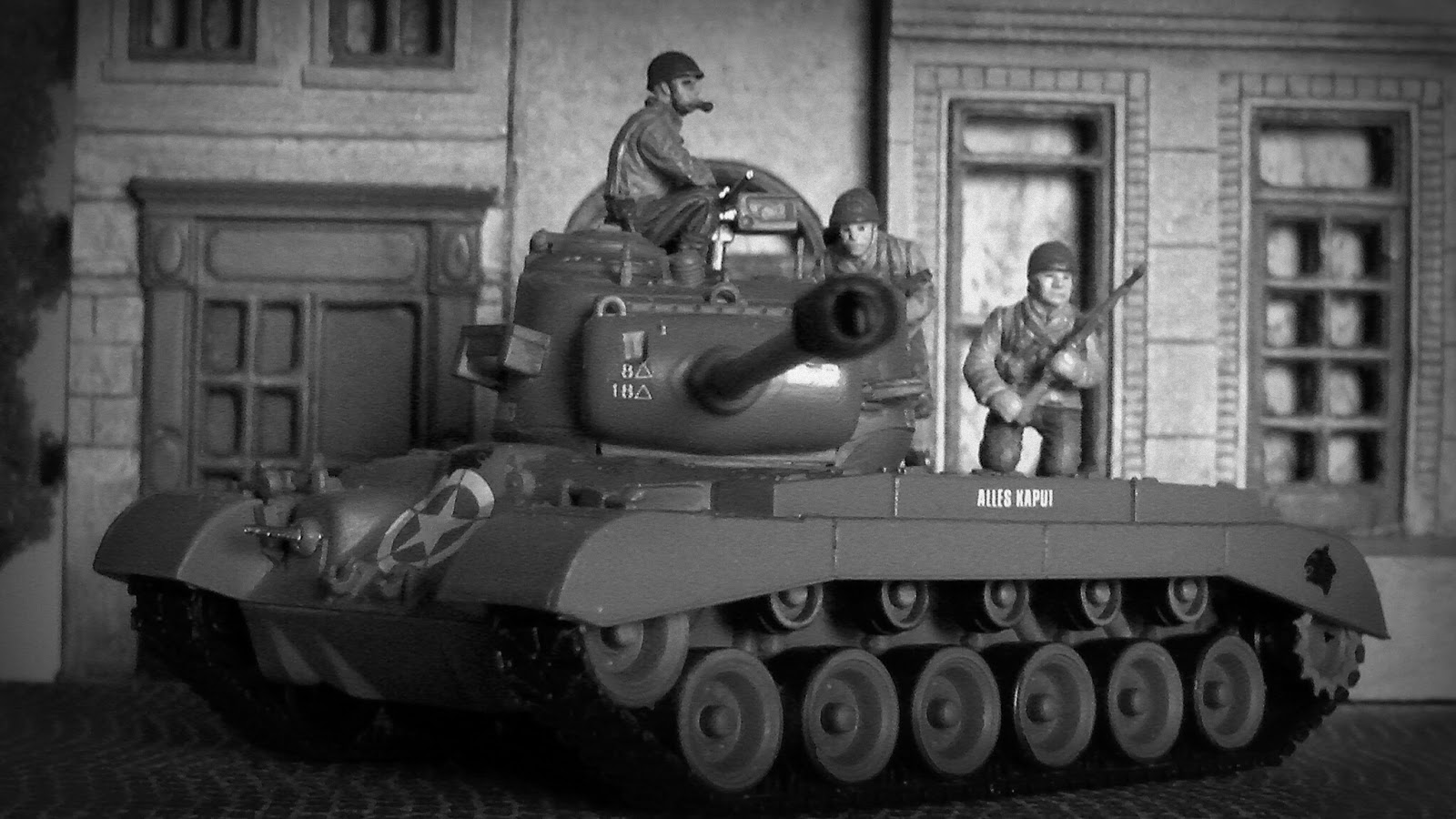 Panzer 100% Sloped Armor: Patton's 3rd Army enters Czechoslovaquia