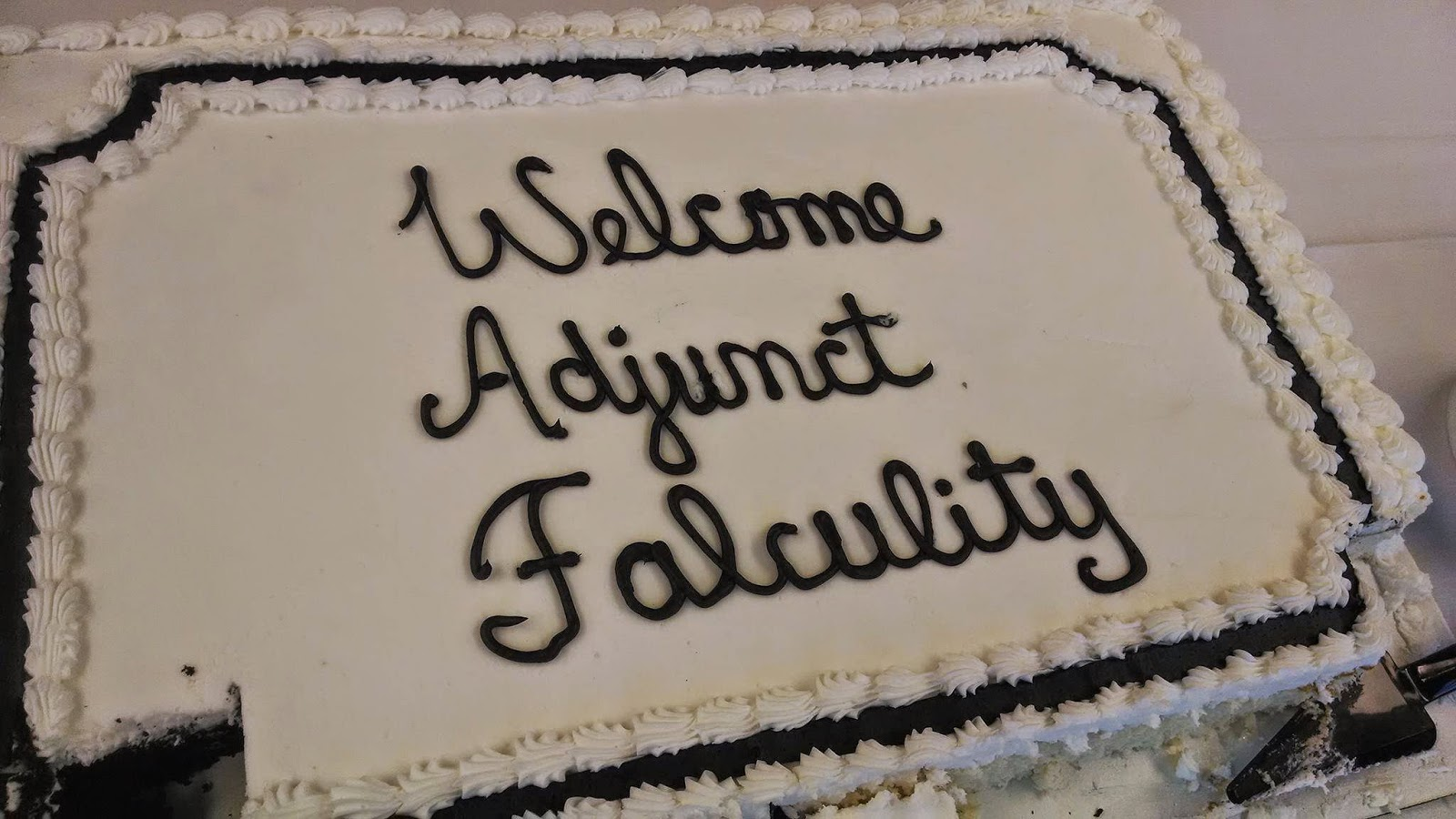 Misspelled Adjunct Cake