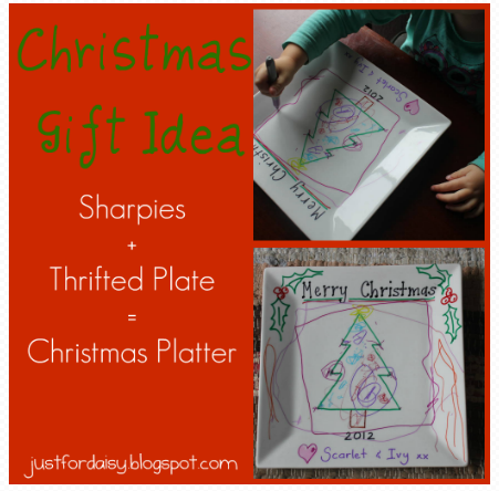 Just For Daisy :: Thrifty Handmade Christmas Gift.