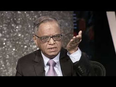 The long suppressed communist in Narayana Murthy surfaced on Saturday prompting him to speak out strongly against the growing culture of intolerance in the country.  Taking part in an NDTV discussion, the former Infosys chairman said before we could even talk about growth, strife should be stamped out.