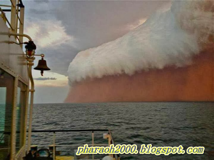 Photo of the day-Red Wave' Dust Storm Hits Western Australia