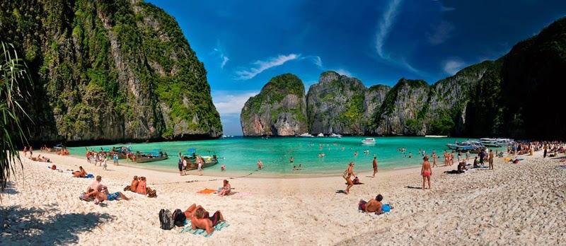 Les 8 plus belles plages de Thailande - Maya Beach