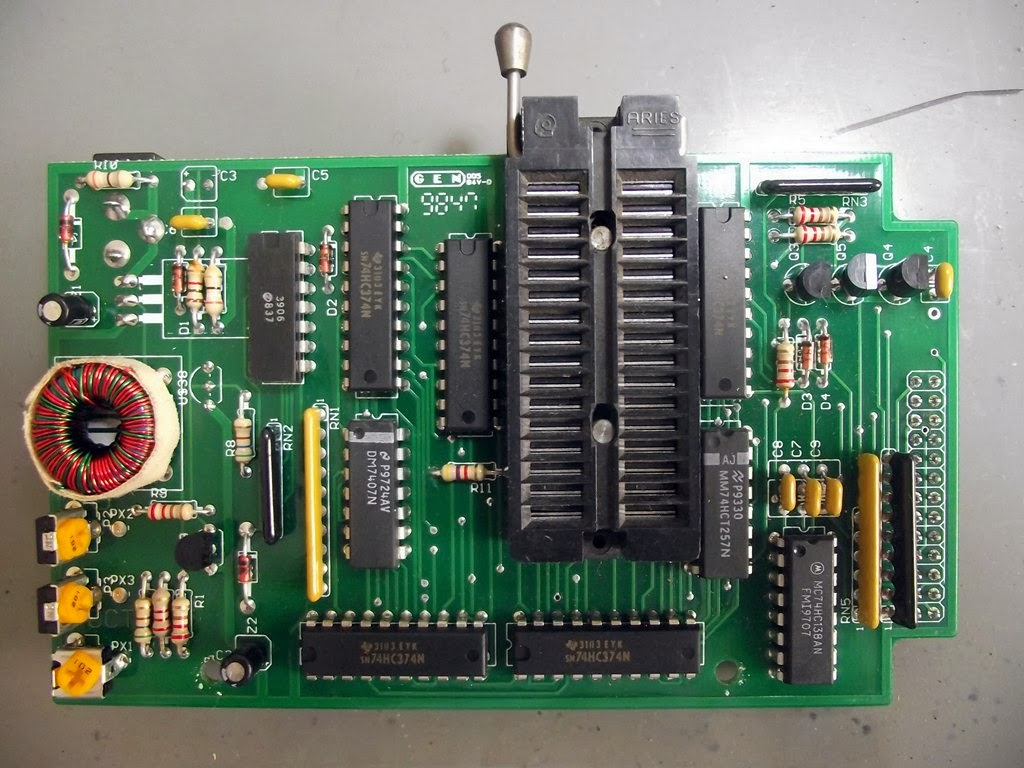 Placa do programador de EPROM
