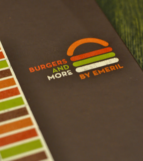 Menu Cover - Burgers and More by Emeril - Bethlehem, PA | Taste As You Go