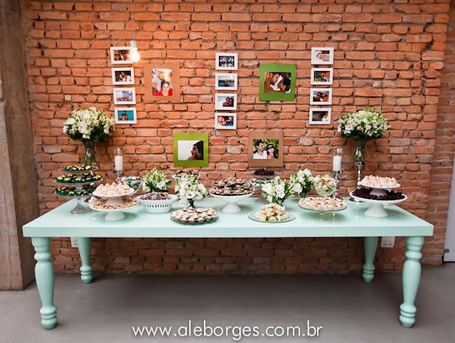 casamento jardim simples : casamento jardim simples:Já falei que adoro parede de tijolo?? Para mim, ela se basta! E o