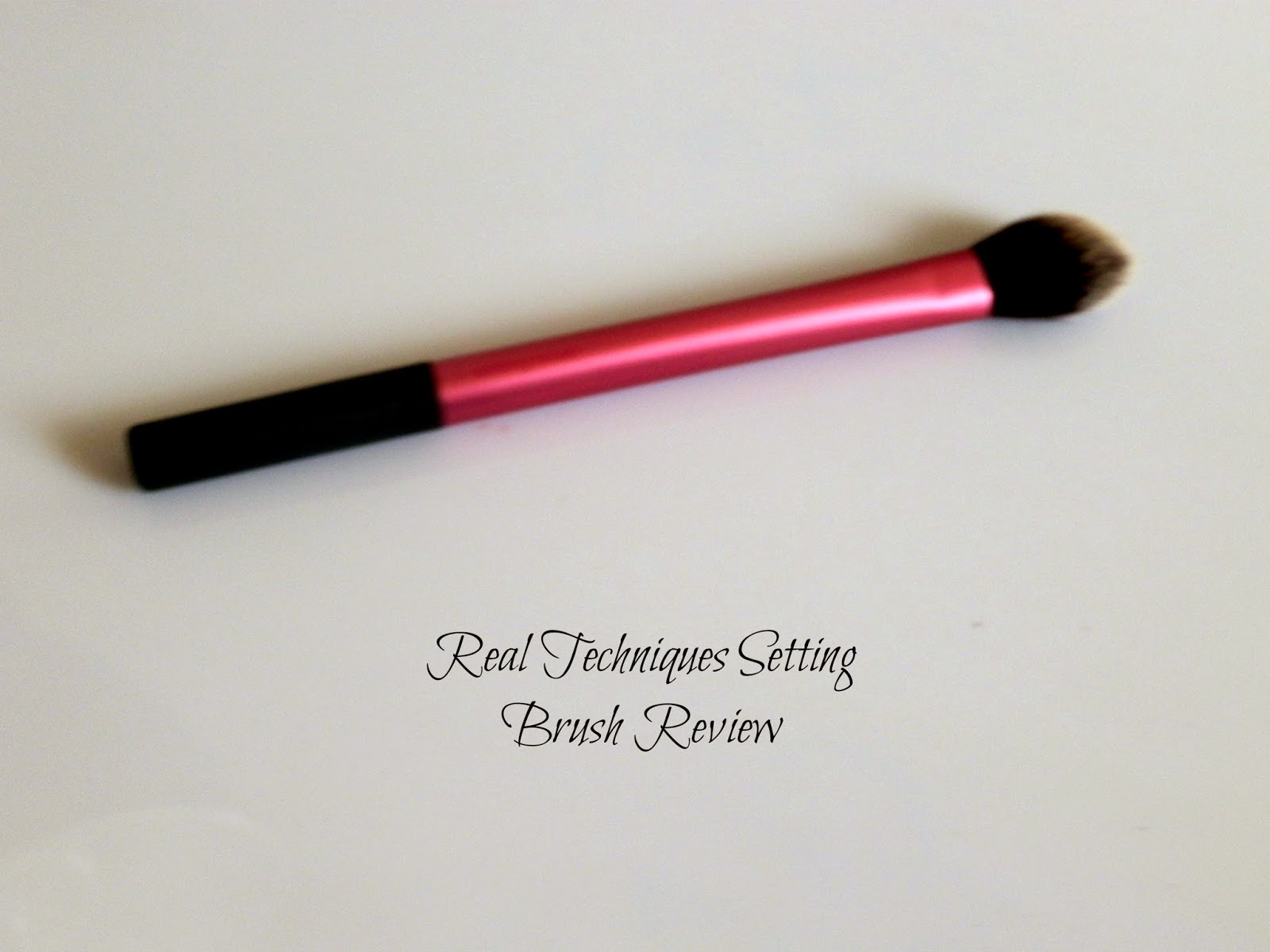 Real Techniques Setting Brush Reviews