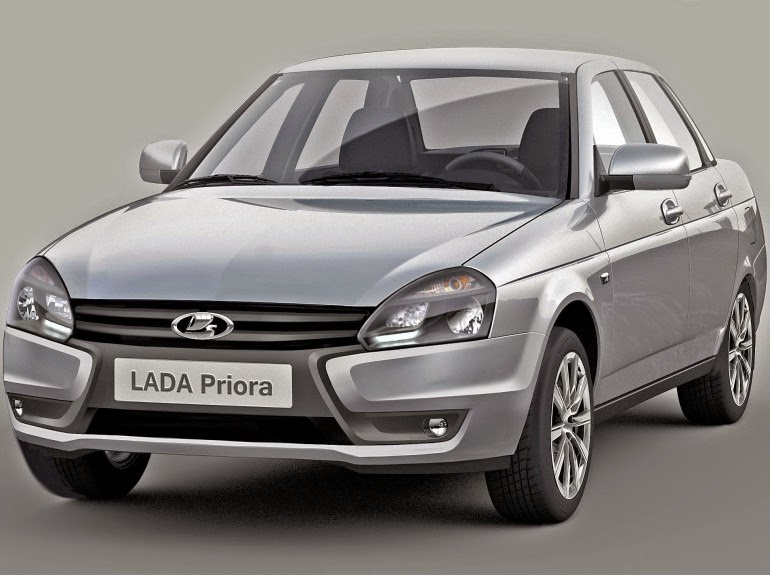 Lada Priora 2015 модельного года