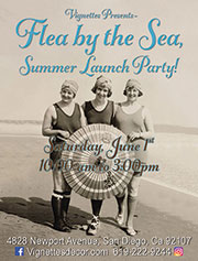 Flea by the Sea -<br>Summer Launch Party!