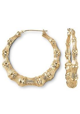 Bamboo Gold Earrings5
