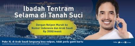 Paket Tarif Murah XL Haji 2013 | OneStopPulsa.blogspot.com