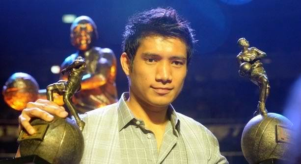 James Yap MVP trophy award
