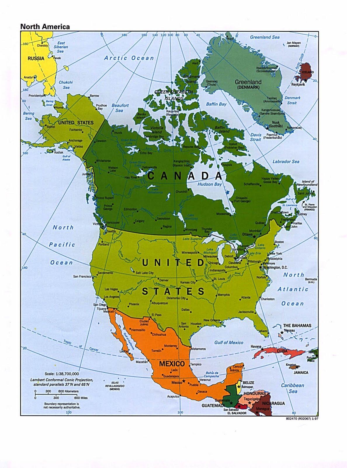 Atlas GeoHistórico Económico Y Político Ejercicios Para - America mapa juego