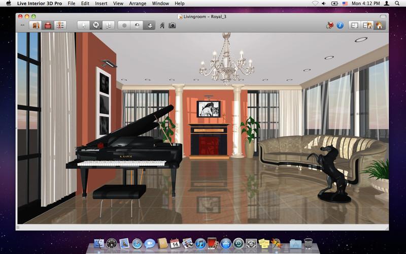 Dise o de interiores live interior 3d pro subcutaneo for Programa diseno interiores