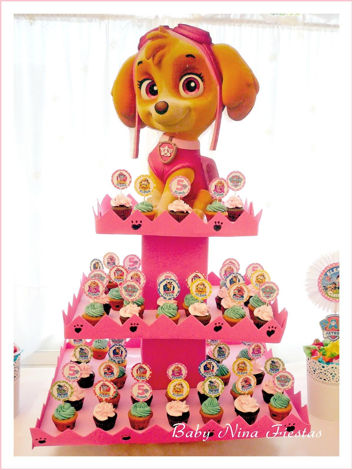 Baby nina fiestas fiesta tem tica patrulla canina para elena - Decoracion de la patrulla canina ...