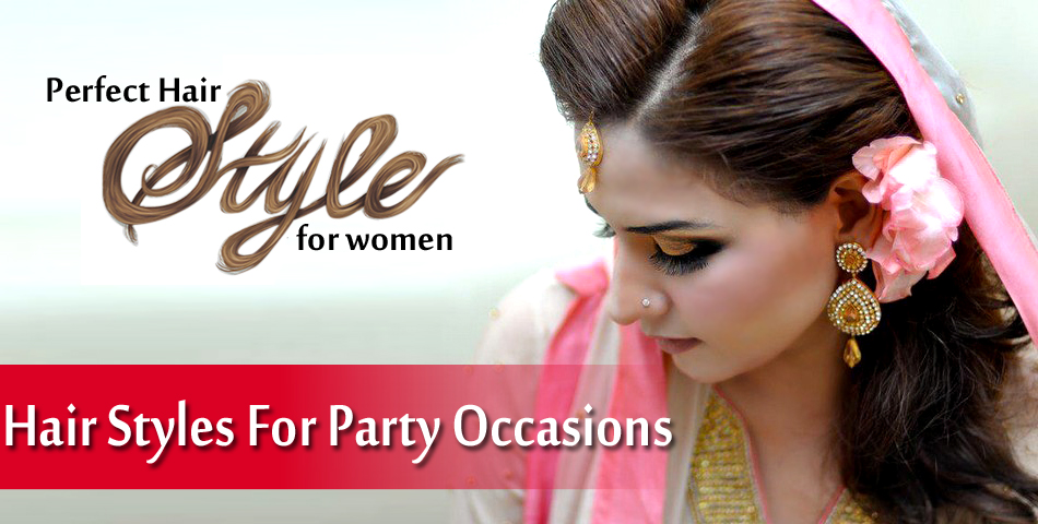 Perfect Makeup For Wedding Party : Perfect Hair Styles For Party Occasions Indian Gorgeous ...