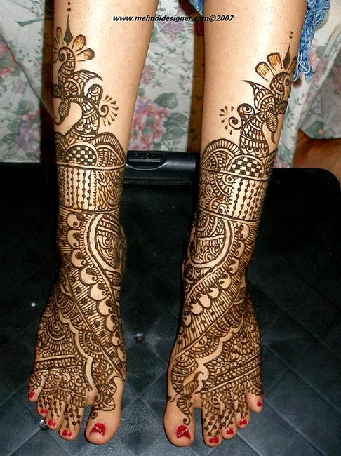 Mehndi for Hands and Feet