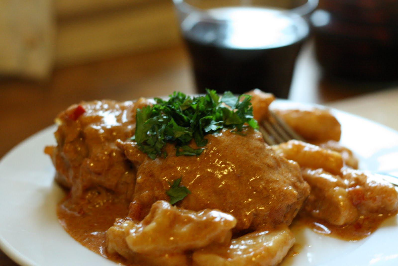 Cuisine Trail: Chicken Paprikash