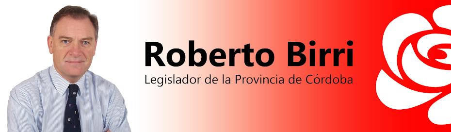 Legislador Roberto Birri