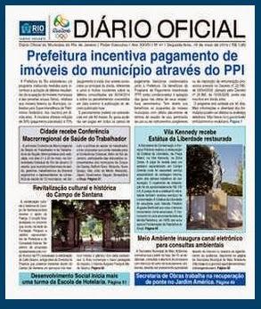 DIÁRIO OFICIAL / PCRJ