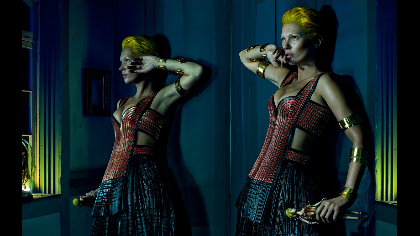 Kate Moss Fronts Alexander McQueen SS14 Campaign advise