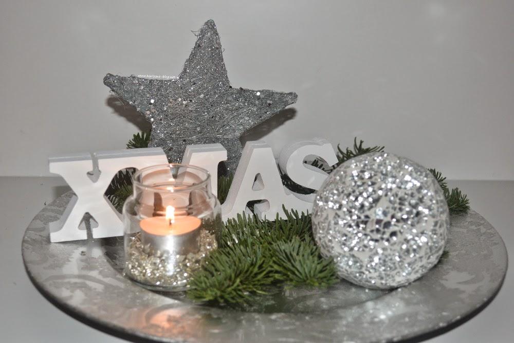 """Adventskränzchen: Weihnachtlicher Deko-Tipp """"Xmas-Teller"""""""