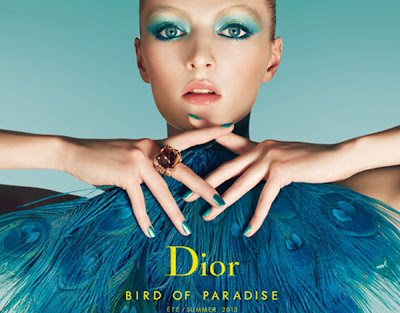 http://4.bp.blogspot.com/-Sn4Bb35GckY/UUxyhylCPrI/AAAAAAABTWE/Rogk252SPq4/s1600/Dior-Summer-2013-Bird-of-Paradise-Collection-Promo.jpg