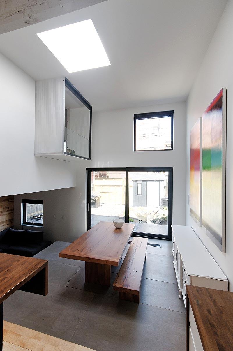 Interiores minimalistas st hubert rehabilitaci n de una for Interiores minimalistas