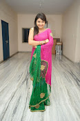 Priyanka Gorgeous Photos in Saree-thumbnail-11