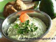 Nátierka z avokáda - recept