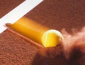 Vitesse balle de tennis