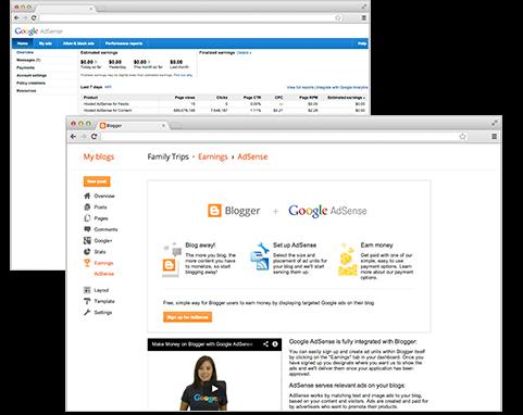 gagnez de l'argent avec Google AdSense