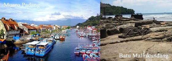 Objek wisata dikota Padang Sumatera Barat