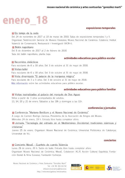 ACV 06 MUSEO GLEZ MARTÍ (01 al 31 de Enero 2018)