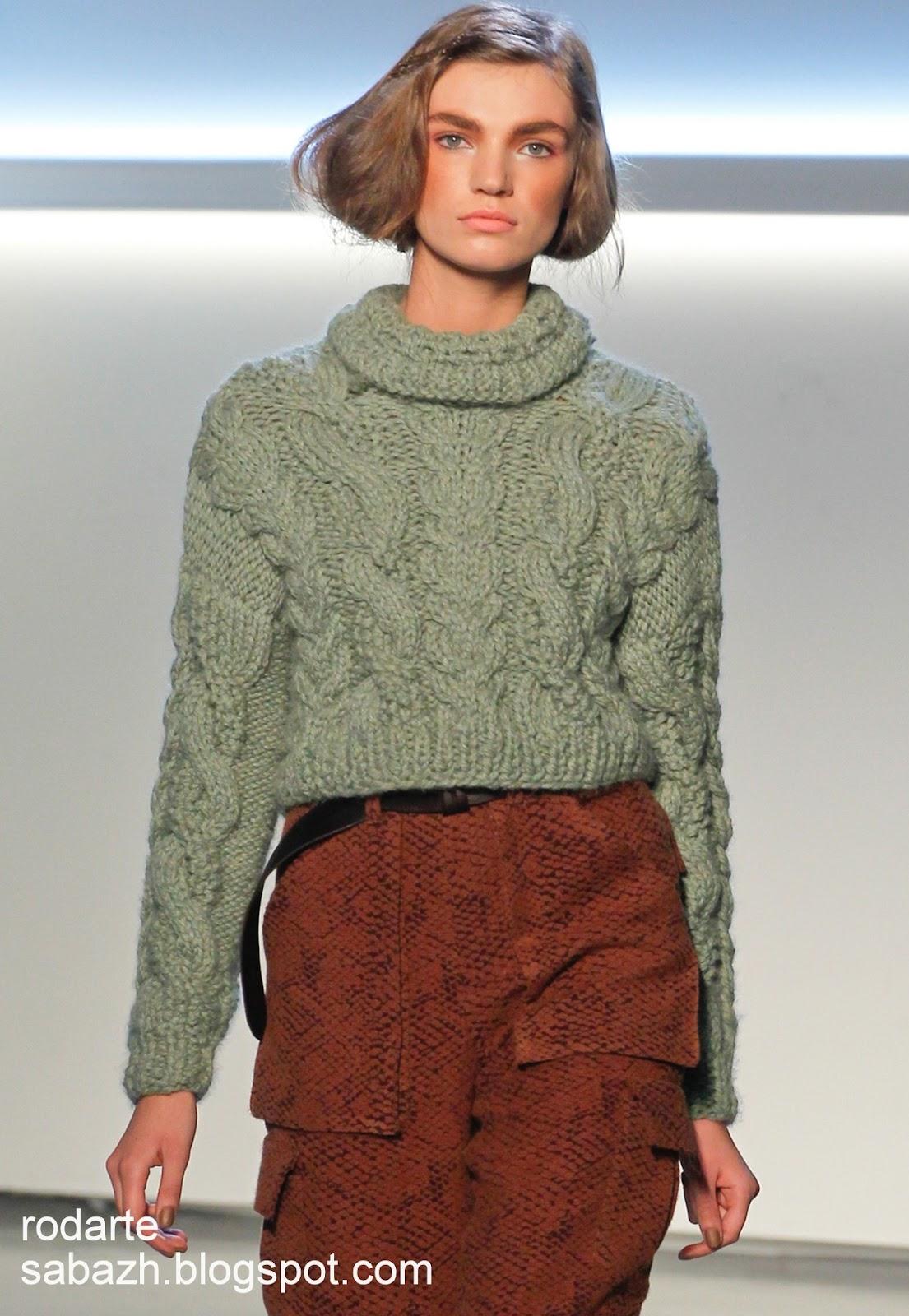 Вязанная мода 2012 2013 вязаная мода 2012 2013
