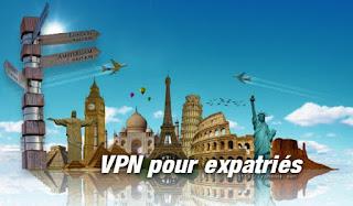 Meilleur VPN pour expatriés