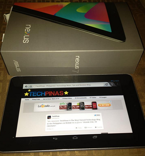 google nexus 7 tablet philippines