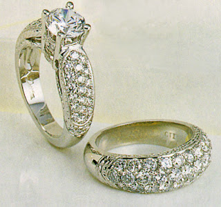 Model Cincin Pernikahan Terbaru 2012